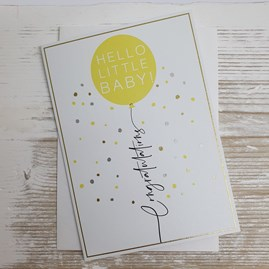 'Hello Little Baby!' Card