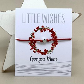 'Love You Mum' Wish Bracelet