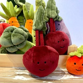 Jellycat Vivacious Vegetable Beetroot Soft Toy