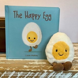 Jellycat The Happy Egg Book