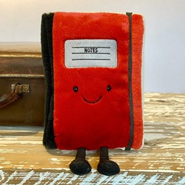 Jellycat Smart Stationery Notebook Soft Toy