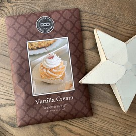 Scented Room Sachet - Vanilla Cream