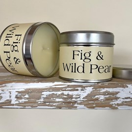 Pintail 'Fig & Wild Pear' Scented Candle Tin