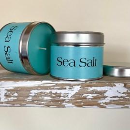 Pintail 'Sea Salt' Scented Candle Tin