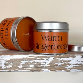 Pintail 'Warm Gingerbread' Scented Candle Tin