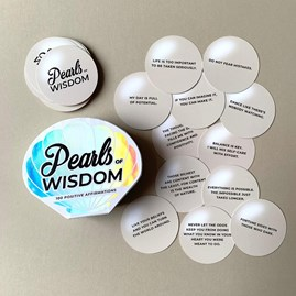 100 'Pearls Of Wisdom' Positive Affirmation Cards