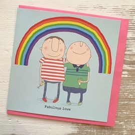 'Fabulous Love' Greetings Card