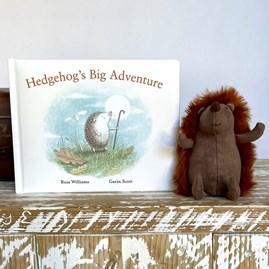 Jellycat 'Hedgehog's Big Adventure' Book
