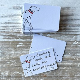 Dalmation Thinklet Cards Pack of 50
