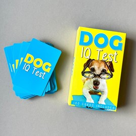 100 Dog I.Q. Test Cards