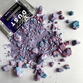 Space Dust Raspberry Scented Glitter Bath Dust