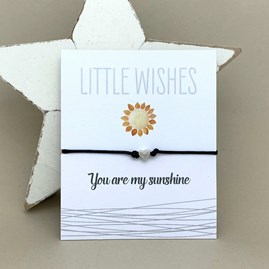 'You Are My Sunshine' Wish Bracelet
