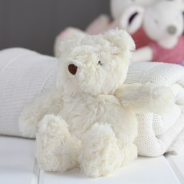 Mini Cream Bear Newborn Soft Toy