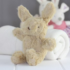 Mini Beige Bunny Newborn Soft Toy