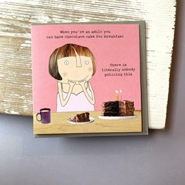 'When You're An Adult...' Greetings Card