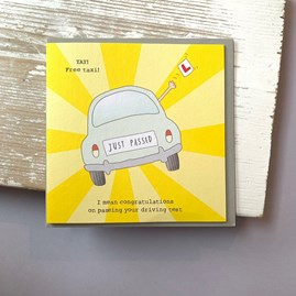 '...Passing Your Driving Test' Greetings Card