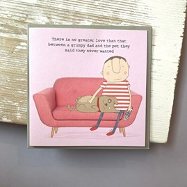 'There Is No Greater Love...' Greetings Card