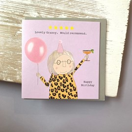 'Lovely Granny...' Greetings Card