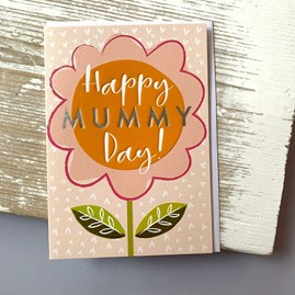 'Happy Mummy Day' Mother's Day Card