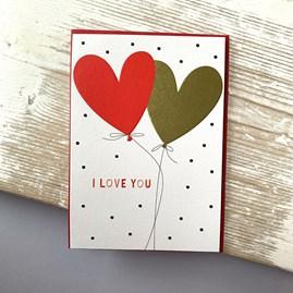'I Love You' Greetings Card