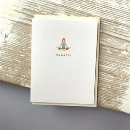 'Namaste' Greetings Card