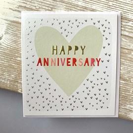 'Happy Anniversary' Greetings Card