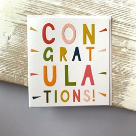 'Congratulations!' Greetings Card