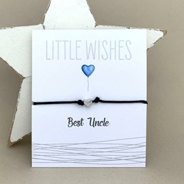 'Best Uncle' Wish Bracelet