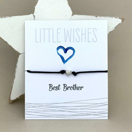 'Best Brother' Wish Bracelet