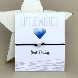 'Best Daddy' Wish Bracelet