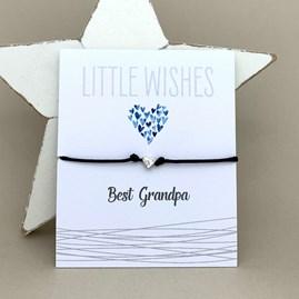'Best Grandpa' Wish Bracelet