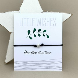 'One Step At A Time' Wish Bracelet