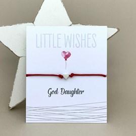 'God Daughter' Wish Bracelet