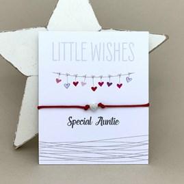 'Special Auntie' Wish Bracelet