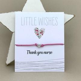 'Thank You Nurse' Wish Bracelet