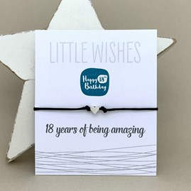 '18 Years Of Being Amazing' Wish Bracelet