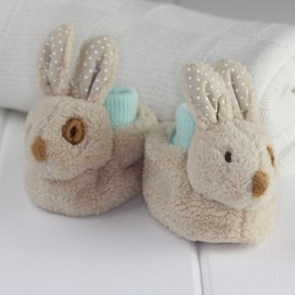 Beige Bunny Soft Baby Shoes