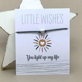 'You Light Up My Life' Wish Bracelet