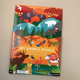Children's 'My Animal World' Sticker Activity Set
