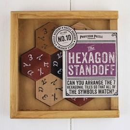 Hexagon Standoff Puzzle