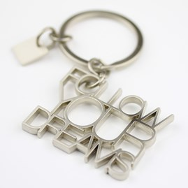 'Follow Your Dreams' Keyring