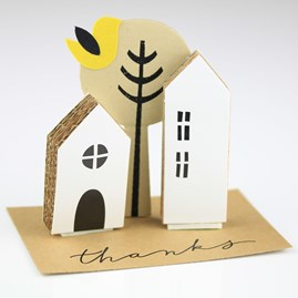 'Thanks' House Greeting Decoration