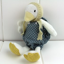 Cuddly Newborn Soft Toy Duck