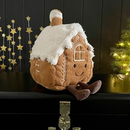 Jellycat Amuseable Gingerbread House Soft Toy
