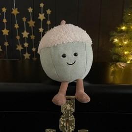 Jellycat Amuseable Glisten Acorn Soft Toy