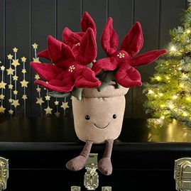 Jellycat Amuseable Poinsettia Soft Toy