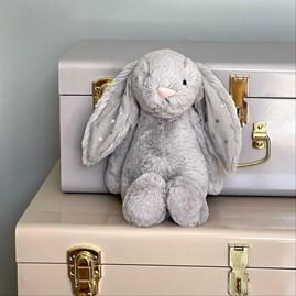 Jellycat Bashful Shimmer Bunny Medium Soft Toy