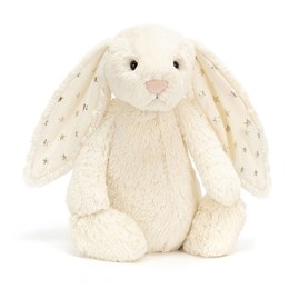Jellycat Bashful Twinkle Bunny Medium Soft Toy