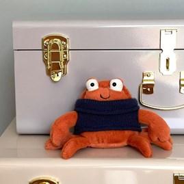 Jellycat Cozy Crew Crab Soft Toy