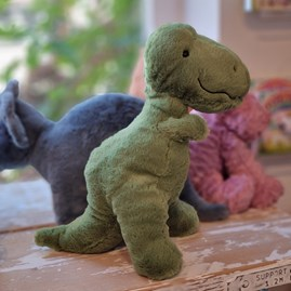 Jellycat Fossilly T-Rex Soft Toy